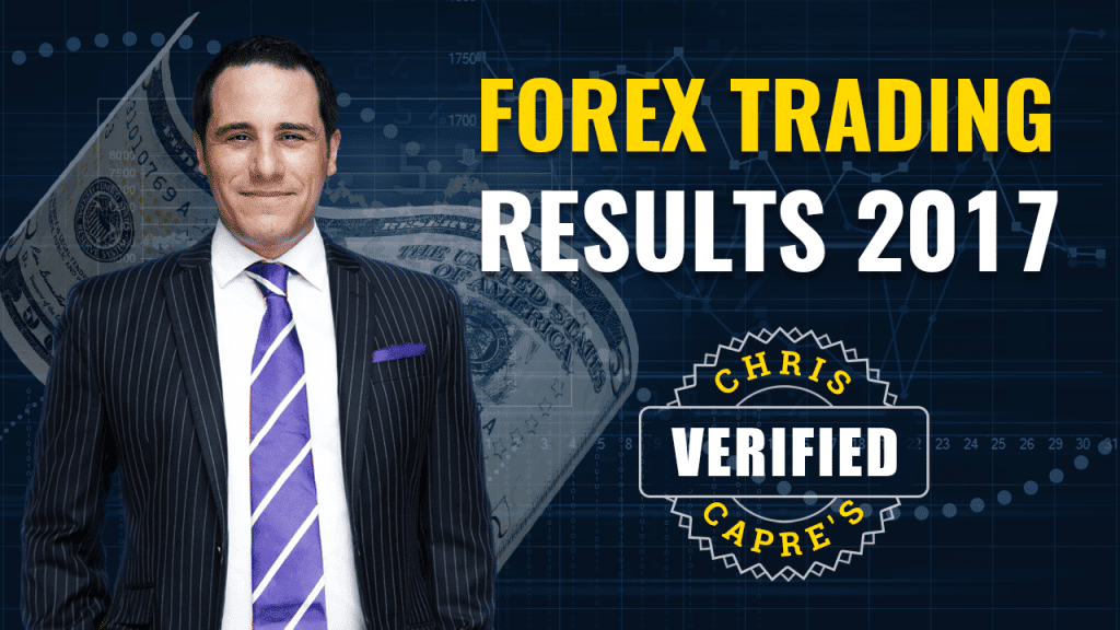 Professional Forex Trader Chris Capre's 2017 Verified Results
