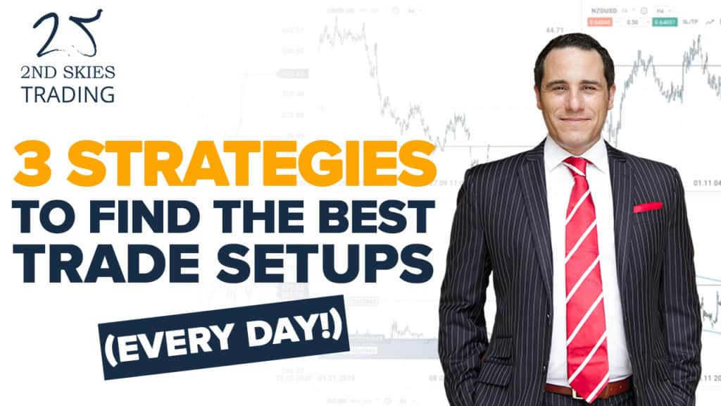 3 Strategies to Find the BEST Trade Setups